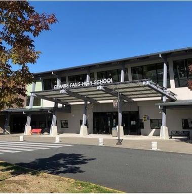 Granite Falls High School building