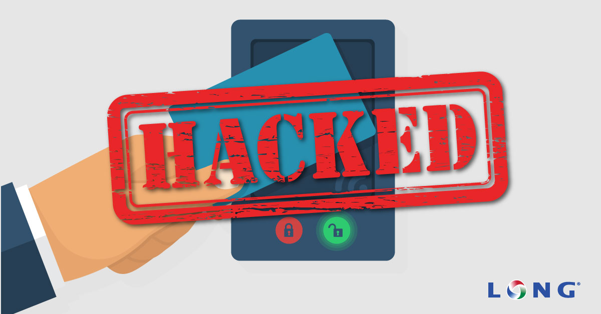 Hacked proximity access card reader